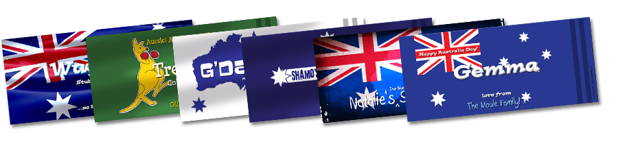 Australia Day Stubby Holders