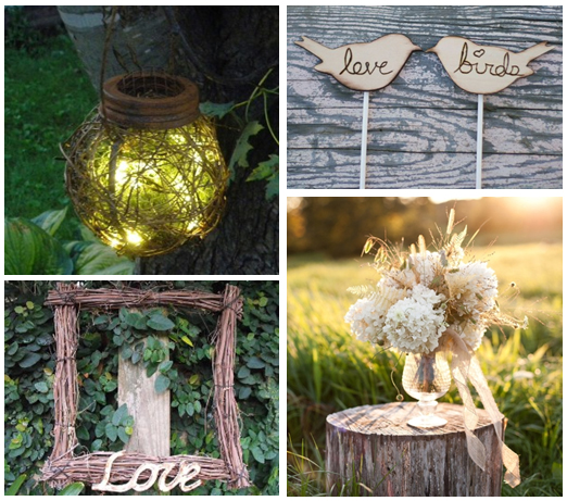 Rustic Woodland Design Ideas