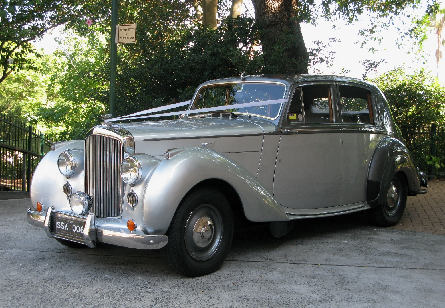 Bentley Classic Wedding Car