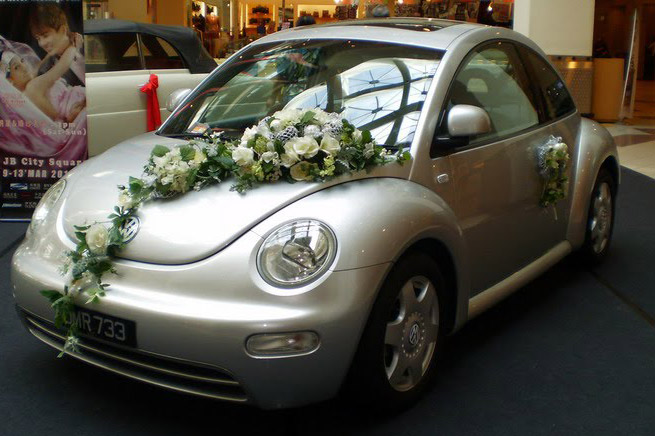 Volkswagen Beetle Wedding Car